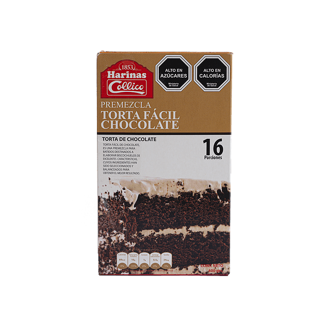 Premezcla Bizcocho Chocolate 400 gr