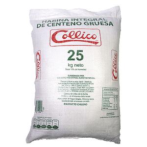 Harina Integral de Centeno 25 Kg Gruesa PPL