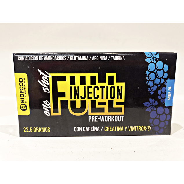 Pre-Workout Full Injection Biofood