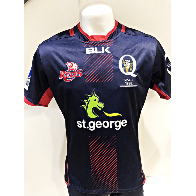 Camiseta Queensland Reds Test Blk