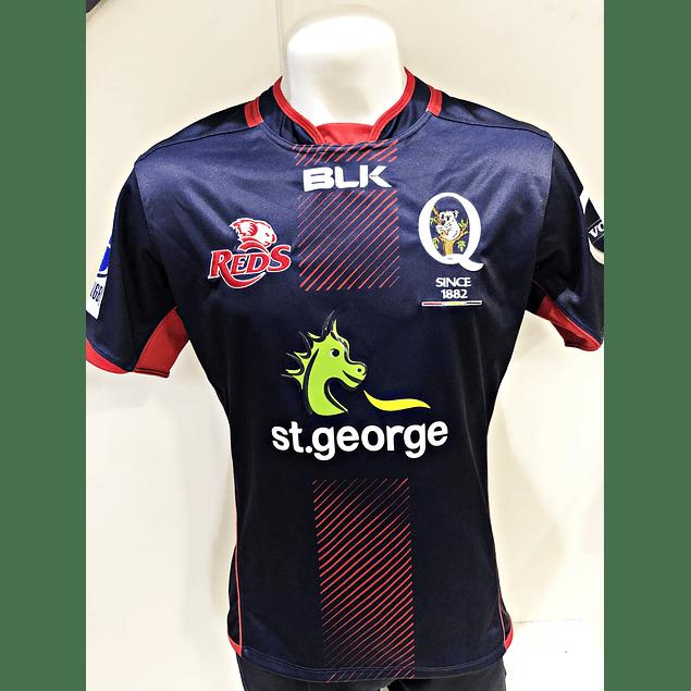 Camiseta Queensland Reds Test Blk