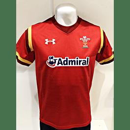 Camiseta Gales Titular 2015 Under Armour