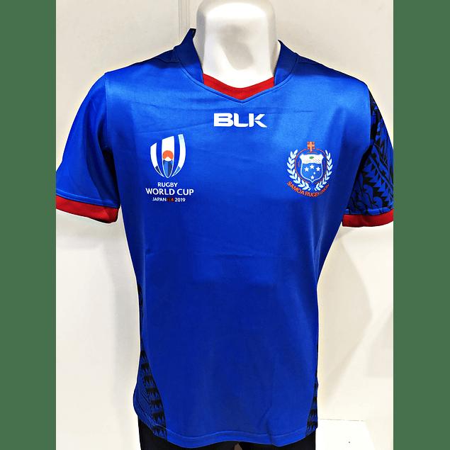 Camiseta Samoa RWC 2019 Replica Blk