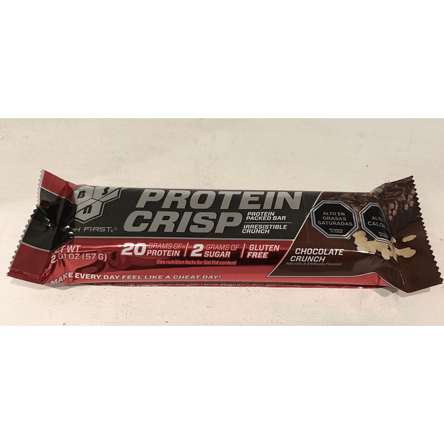 Barra Proteina Chocolate Bsn