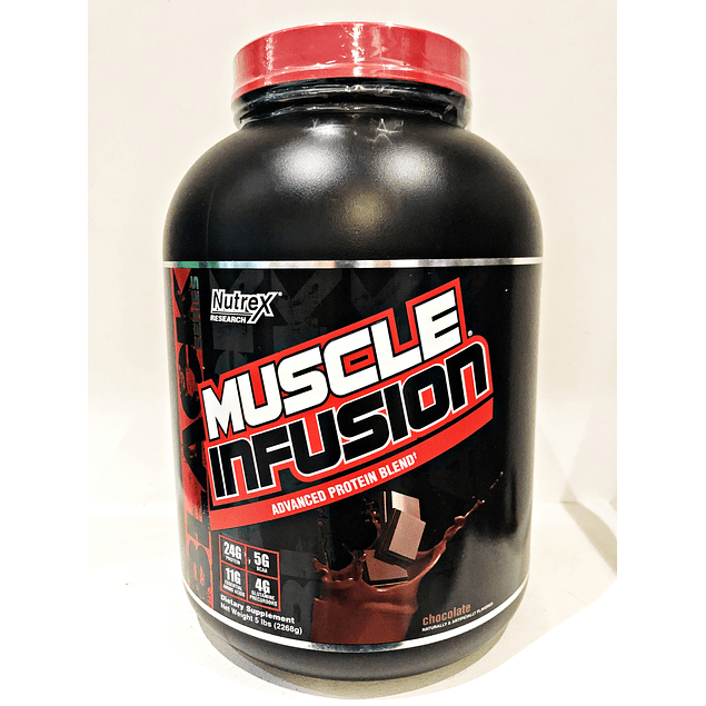 Proteina Muscle Infusion 5lb Nutrex