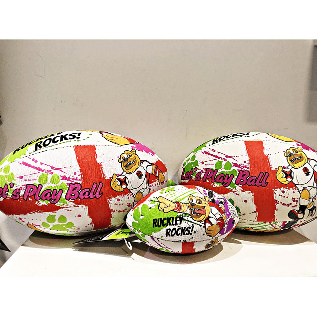 Balon Ruckley Inglaterra Gilbert