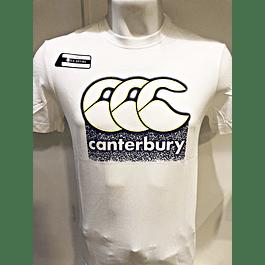 Polera Vapodri Algodon Bright White Canterbury