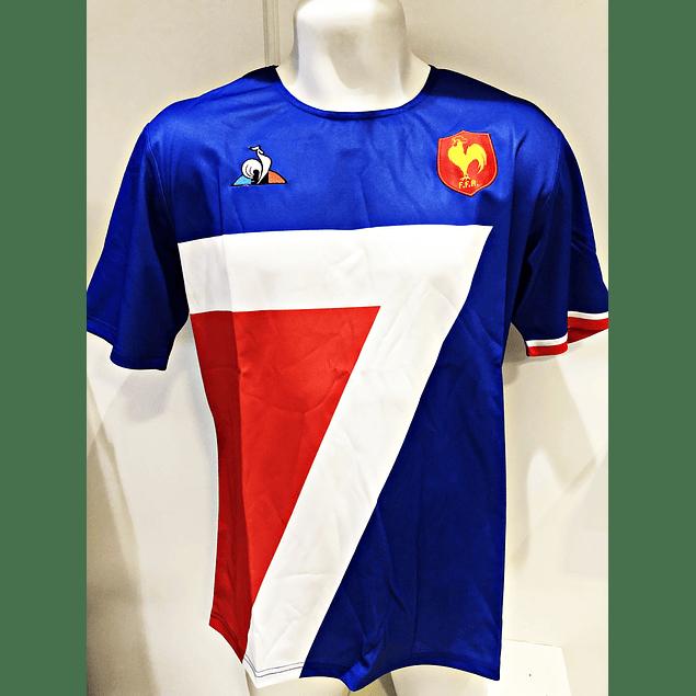 Camiseta Francia Sevens Replica Le Coq