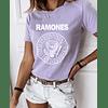 LILAC RAMONES TEE