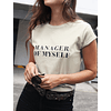 MANAGER MYSELF TEE (ARENA)