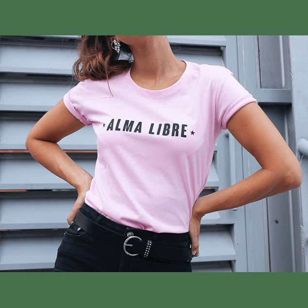 ALMA LIBRE TEE (PINK)