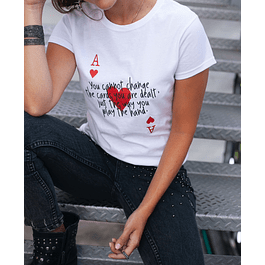 THE ACE OF HEARTS TEE