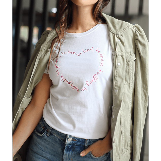 HEART OF LETTERS TEE