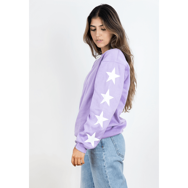 SHOOTING STAR SWEATSHIRT (LILA)