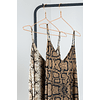 MIDI ANIMAL PRINT DRESS (Brown)
