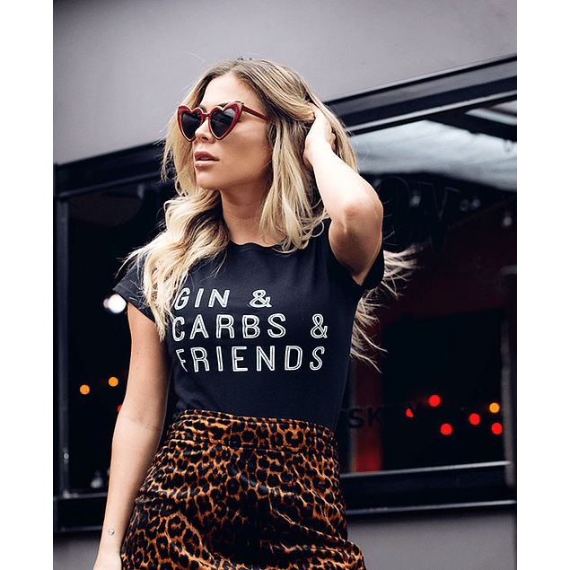 GIN AND CARBS AND FRIENDS TEE
