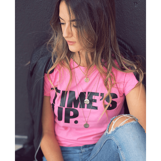 TIME'S UP TEE