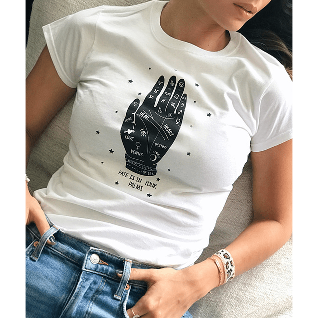 FATE IS IN YOUR PALMS TEE