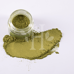 Mica Olive Yellow 10 gr