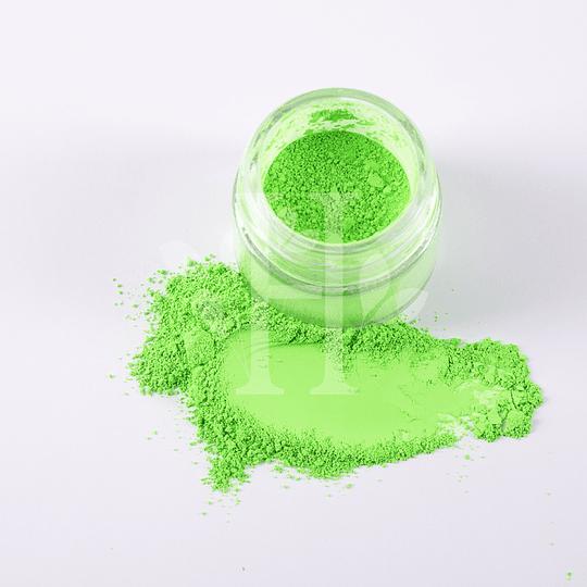 Neón verde Pigmento 10 gr - Image 1