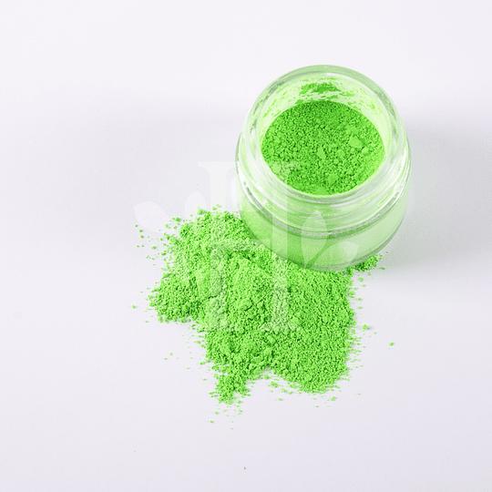 Neón verde Pigmento 10 gr - Image 2