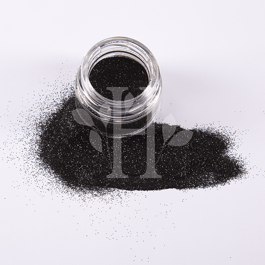 Glitter Negro Pigmento 10 gr - Image 1