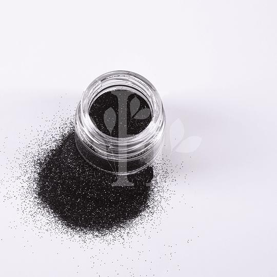 Glitter Negro Pigmento 10 gr - Image 2
