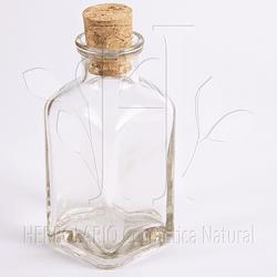 Botella Corcho Cuadrada 50 ml
