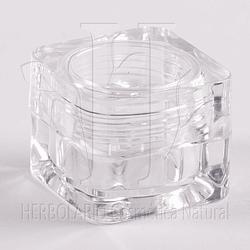 Pote Acrílico Transparente 5 ml