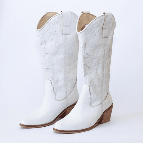 Bota Dallas Blanca