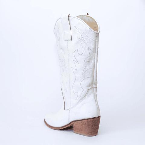 Bota Dallas Blanca