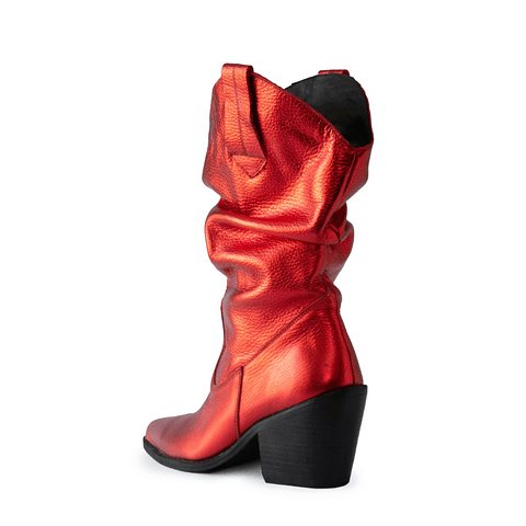Glov Rojo Metalizado