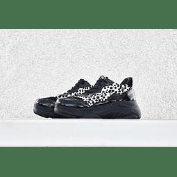 zapatilla fearless white cheetah