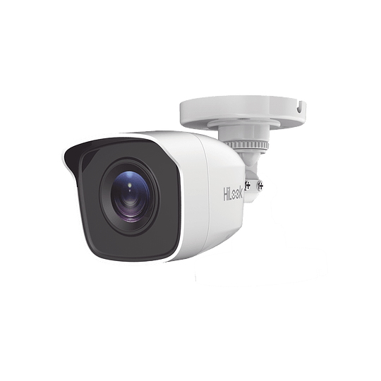 Camara Bala TURBO 1080p, Gran Angular 103°, Lente 2.8 mm, Metal, IR EXIR 20 mts, IP66, Modelo: THC-B120-MC