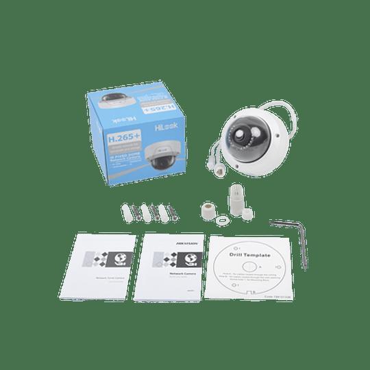 Camara Mini Domo IP, 2 Megapixeles, 30 mts IR, IP67, IK10, PoE, Modelo: c - Image 2