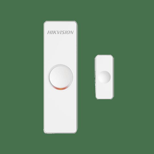 Contacto Magnético Inalámbrico para Panel de Alarma Hikvision, Modelo: DS-PD1-MC-WWS - Image 1