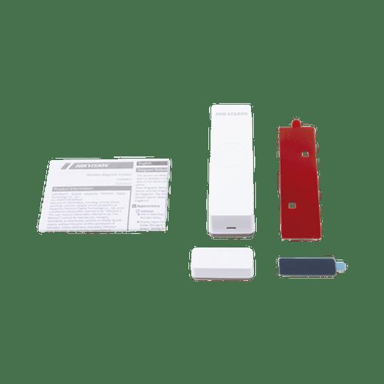 Contacto Magnético Inalámbrico para Panel de Alarma Hikvision, Modelo: DS-PD1-MC-WWS - Image 2