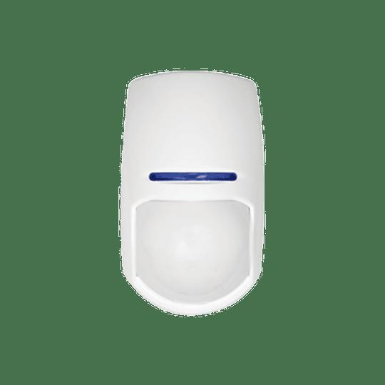 Detector PIR Inalámbrico para Panel de Alarma Hikvision con Inmunidad a Mascotas, Modelo: DS-PD2-P10P-W - Image 1