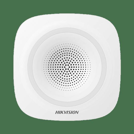 Sirena Inalámbrica Interior para Panel de Alarma Hikvision 110 dB, Modelo: DS-PSG-WI - Image 1