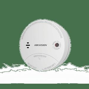 Detector de Humo Inalámbrico para Panel de Alarma Hikvision uso Interior, Modelo: DS-PD1-SMK-W