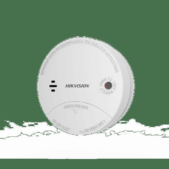 Detector de Humo Inalámbrico para Panel de Alarma Hikvision uso Interior, Modelo: DS-PD1-SMK-W - Image 1