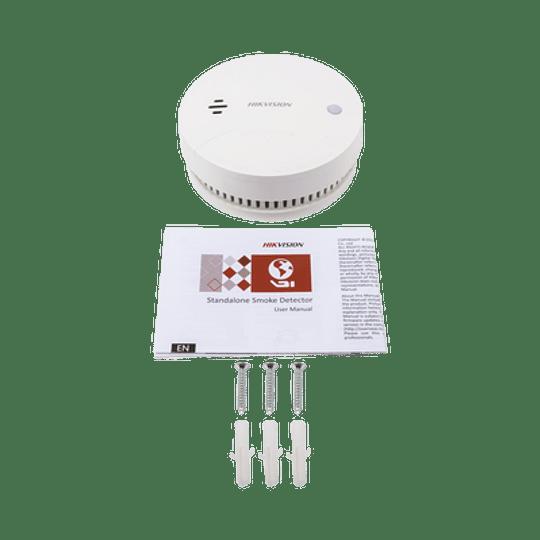 Detector de Humo Inalámbrico para Panel de Alarma Hikvision uso Interior, Modelo: DS-PD1-SMK-W - Image 2