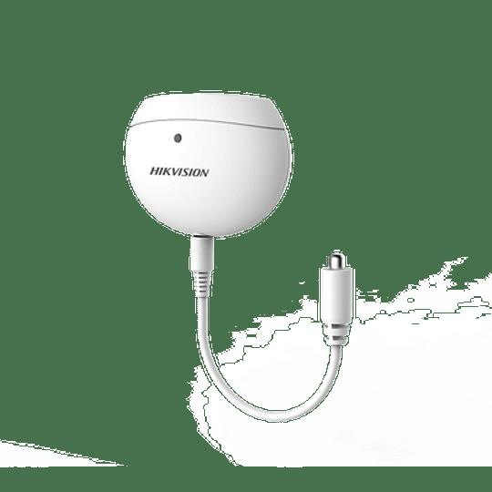 Detector de Temperatura Inalámbrico para Panel de Alarma Hikvision, Modelo: DS-PD1-TP-W - Image 1