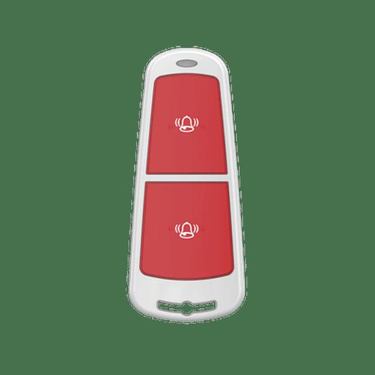 Botón de Pánico Inalámbrico para Panel de Alarma Hikvision, Modelo: DS-PD1-EB-WS2 - Image 1