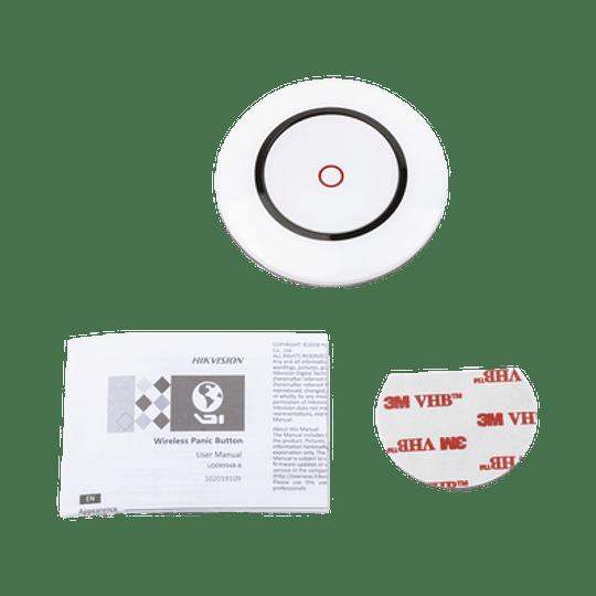 Botón de Pánico Inalámbrico para Panel de Alarma Hikvision, Modelo: DS-PD1-EB-WR - Image 2