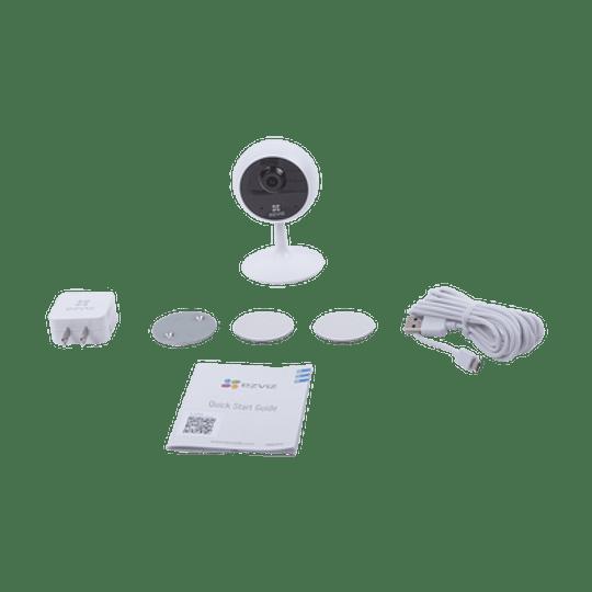 Mini Cámara Ezviz IP 1 Megapixel,  Lente 2.8 mm, Grabación en la Nube, Audio de dos vías, Memoria Micro SD, Modelo: C1C-720P - Image 3
