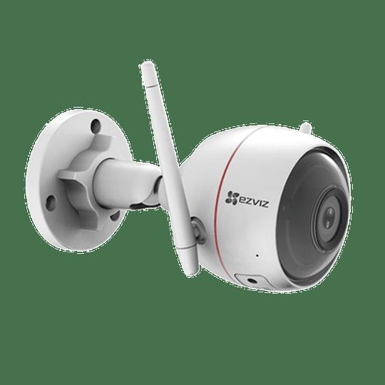 Cámara Bala Ezviz IP 2 Megapixeles, Wi-Fi, 30 mts IR, Grabación en la Nube, Audio de Dos Vías, IP66, Sirena Integrada, Modelo: C3W - Image 2
