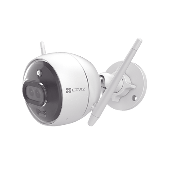 Cámara Ezviz IP, 2 Megapixeles, Wi-Fi, Lente 2.8 mm, IP67, IR 30 metros, Notificación Push, Audio de dos vías, Memoria Micro SD, Modelo: C3X - Image 1