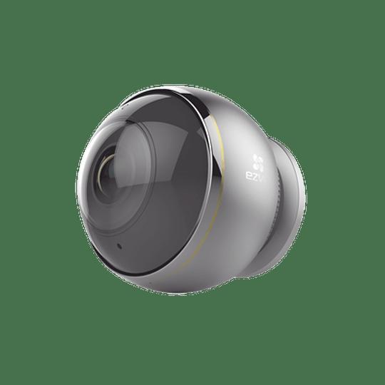 Cámara Ezviz IP, 3 Megapixeles, Vista Panorámica 360°, Notificación Push, Audio de Dos Vías, Memoria Micro SD, Modelo: C6P - Image 1