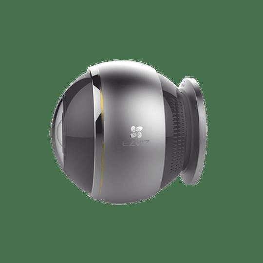 Cámara Ezviz IP, 3 Megapixeles, Vista Panorámica 360°, Notificación Push, Audio de Dos Vías, Memoria Micro SD, Modelo: C6P - Image 2